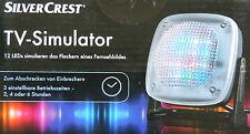 LED TV Simulator Fernseh Fernseher Atrappe Dummy Einbruchschutz Home SecurityNEU
