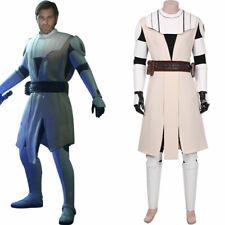 Star Wars: The Clone Wars -Obi- Wan Kenobi Cosplay Costume Suit Uniform Outfit