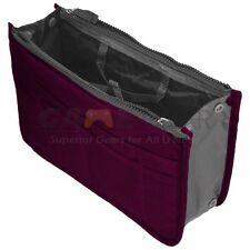 Wine Women Travel Insert Handbag Organiser Purse Large Liner Organizer Tidy Bag