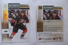2011-12 SP Game Used #105 Maxime Macenauer 1/1 RC spectrum 1 of 1 Swiss Bern
