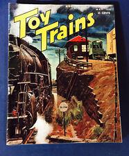 TOY TRAINS OCTOBER 1952 VOL. 1, NO. 7