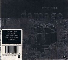 DAVID SYLVIAN & ROBERT FRIPP Damage CD BOX / 24 KARAT GOLD CD 1994