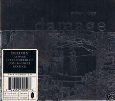 DAVID SYLVIAN & ROBERT FRIPP Damage CD BOX 24 KARAT GOLD 1994 NEU