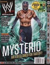 WWE Magazine September 2012 Rey Mysterio w/Poster EX 121015DBE