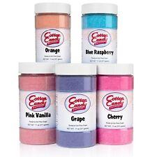Cotton Candy Express D500 Cotton Candy Sugar 5 Flavors