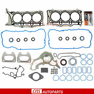 11-16 Chrysler Dodge 300 Caravan Journey Charger Durango VW 3.6L Head Gasket Set