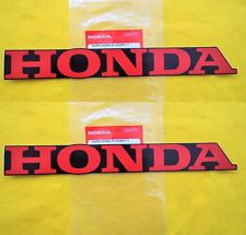 2 x Honda Sticker Belly Pan Decals CBR CRF Fireblade CBR600 CBX *GENUINE HONDA*