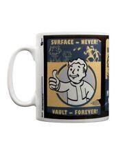 Fallout 4 Mug à thé ou café Vault Forever Blanc