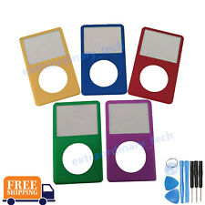 Front Faceplate Housing Cover Case Green for iPod Classic 6th 7th 80 120 160GB