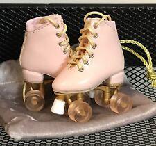 "SK COUTURE PINK PEACH ROLLER SKATES  - FITS Boneka, 10"" dolls, yosd, Ellowyne"
