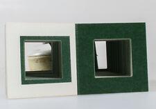 126 film Cardboard Slide Mount Lot Of 100 Heatseal