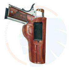 """Fits Colt 1911 IWB Concealed Carry Leather Belt Holster_ 5"""""""