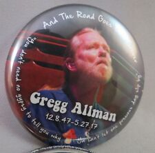 Wholesale Lot Of 22 Buttons Gregg Allman Memorial Brothers Band mushroom wanee