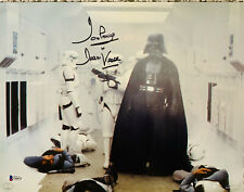 Dave Prowse Signed Star Wars Darth Vader 11x14 Photo - Beckett BAS 11