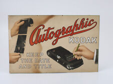 KODAK SIGN FOR THE AUTOGRAPHIC FEATURE, ROUGHLY 17-1/2 IN LONG (READ)/cks/195422