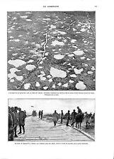 WWI Bataille de Champagne Tahure Somme-Py à Souain Sammies US Army ILLUSTRATION