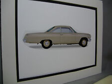 1962 Chevrolet Bel Air 409  artist Auto Museum Full color Illustrated not photo