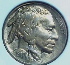 1914 BUFFALO NICKEL-VERY CHOICE BU-TREMENDOUS TONING- DOUBLE OBVERSE-BEST OFFFER