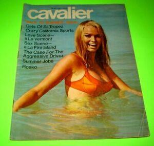 Cavalier Magazine May 1968 Sexy Erotic Moda Fashion Vintage St Tropez