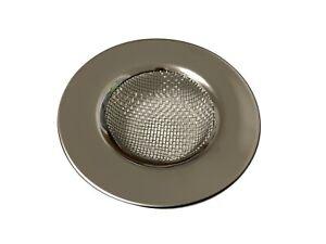 2x Abflußsieb Abfluß Sieb Haarsieb für Küchenspüle Waschbecken Dusche Ø77mm