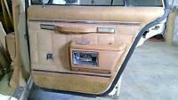 79 Pontiac Bonneville Passenger Right REAR Interior Door Trim Panel OEM Used