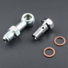 4AN Turbo Oil Feed Banjo Bolt Kit M10x1.25 mm Greddys Trusts TD04H T517Z T518Z