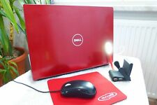 DELL Studio 1537 Rot l 15 Zoll HD l BluRay l HDMI I AKKU NEU Windows 7 Ultimate