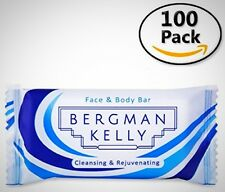 BERGMAN KELLY Hotel Soap Bars, Guest Travel Soap in Bulk, Reduced Sized for 100
