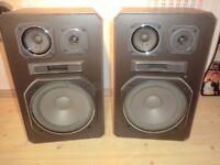 ITT BR3-120 3-Wege Stereo Lautsprecher / Boxen, 2 Jahre Garantie