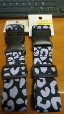 """Luggage Strap (1) Adjustable Travel Packing Belt Animal Print Strap Cheetah 62"""""""