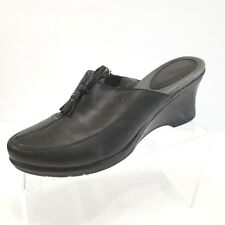 Ariat Womens Slip On Casual Mules Shoes Black Leather 20925 Size 8 B