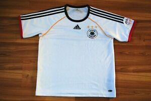 GERMANY ADIDAS TRAINING FOOTBALL SHIRT HOME 2006/2007 SOCCER JERSEY MENS SIZE M