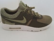 NIKE AIR MAX ZERO BREEZE TROOPER SUMMIT WHITE CARGO Khaki SZ 13 903892-200