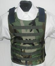 2 New Complete Vests with Full Kevlar Inserts  BulletProof Carriers Body Armor