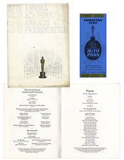 37th Academy Awards Oscars Presentation Program