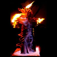 Celtic God of Fire Bronze with Propane fire sculpture Game of Thrones theme