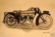 Motorcycle/Poster Illustration - Brough Superior Mark  I 1922-23