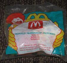 1995 McDonalds Happy Meal Toy -  Ronald McDonald McTurbo Car