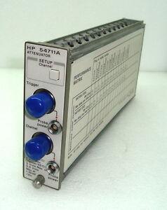 HP 54711A ATTENUATOR