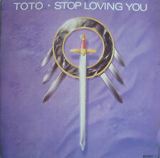 """7"""" 1988 WANTED ! TOTO : Stop Loving You // MINT- \"""