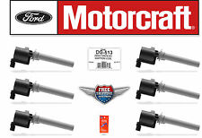 6 Original Motorcraft Ignition Coil DG500 DG513 FD502 Ford Mercury Mazda 3.0L V6