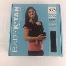 Open Box Baby K'tan xxs Black