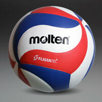 Soft Touch Volleyball Leather V5 Molten M5000 Ball Official Indoor Outdoor Game