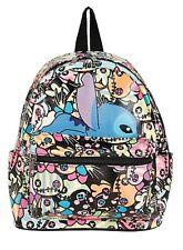 Disney Lilo & Stitch & Scrump Mini Faux Leather Backpack School Book Bag NWT!