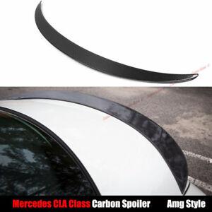 Carbon Fiber Rear Spoiler for Mercedes-Benz CLA45 AMG W117 CLA200 CLA250 CLA180