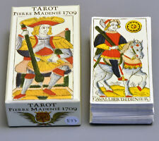 TAROT DE MADENIE 1709 MARSEILLE HISTORICAL CARD DECK + WRAP 2nd EDITION *NIB*