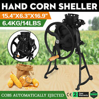 Hand Operate Corn Thresher Sheller Threshing Stripping Machine Stripper Tool New
