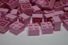 LEGO 50 x LIGHT PINK BRICKS 2 x 2 No 3003 CITY-FRIENDS-MOVIE-ELVES