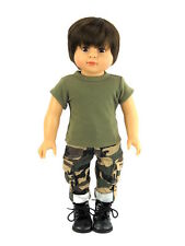 """In the Army now camo fits 18"""" doll American girl doll clothes"""