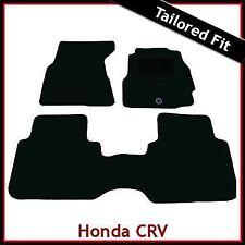 Honda CRV Manual Mk1 1995-2002 Tailored Fitted Carpet Floor Mats BLACK